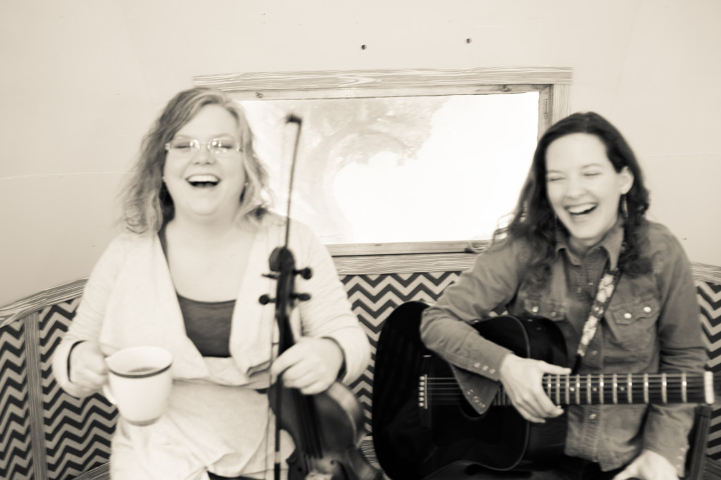 ain't nothing finer than having a giggle with a friend! Photo by Emily Evans Sloan